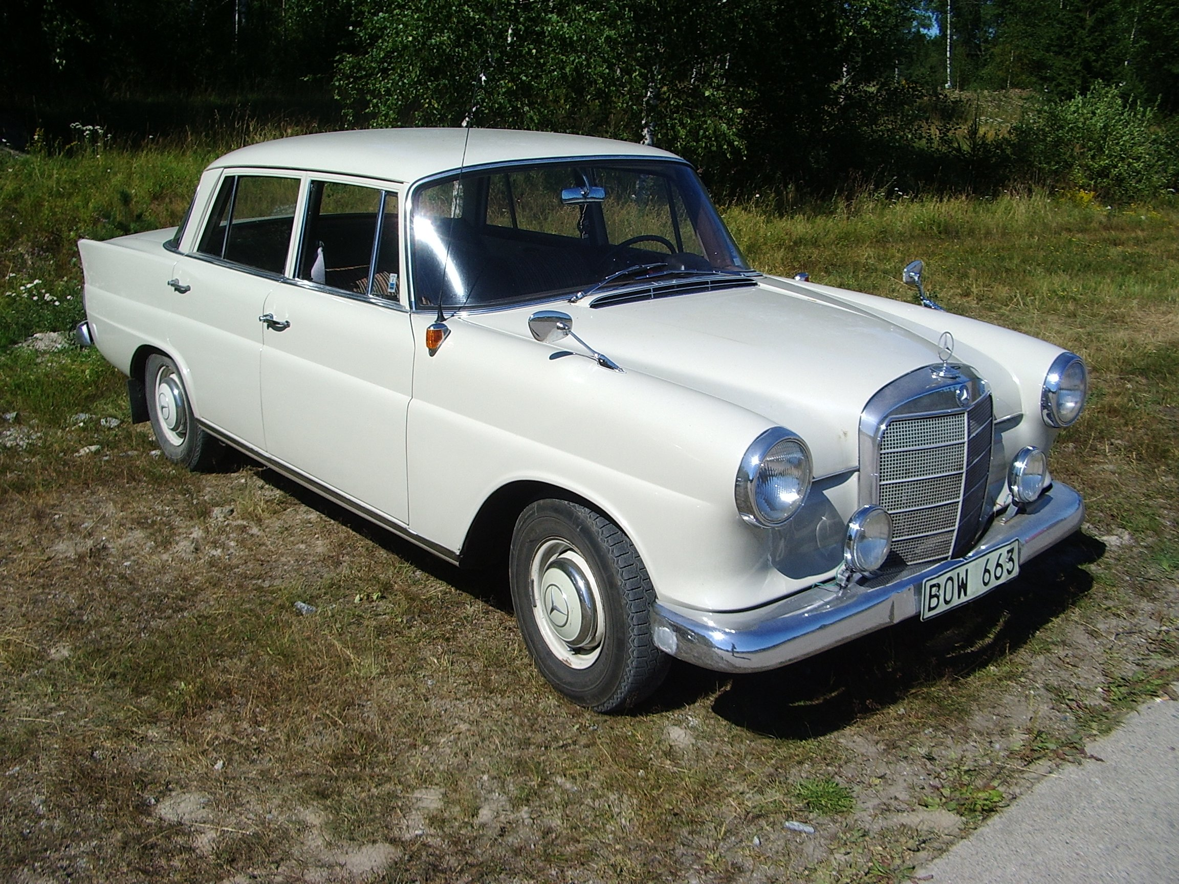 Classic German cars in Tullinge (Stockholm and beyond)