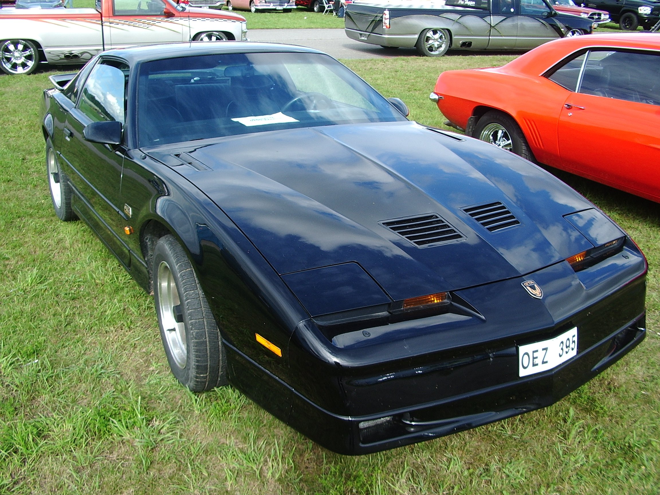Modern American muscle cars at Barkarby (Stockholm and beyond)